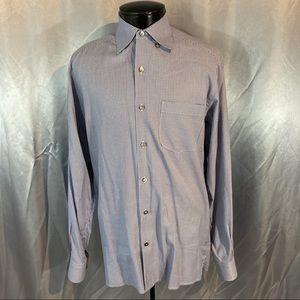 Ermenegildo Zegna men's button down shirt